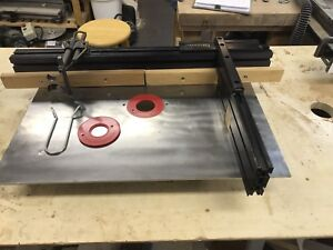 Complete Veritas Router table top system