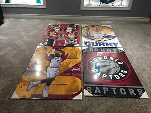SELECTION OF B-BALL PLAQUES! **FATHERS DAY GIFT IDEA**