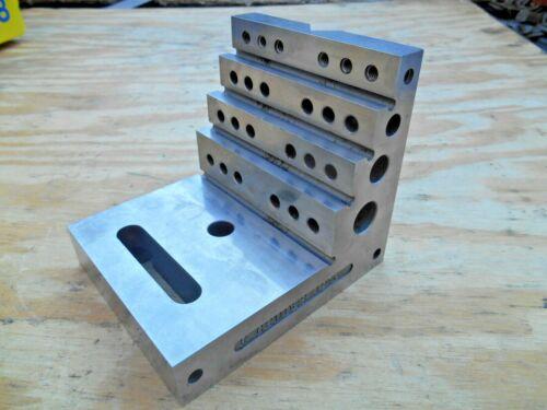 "MACHINISTS RIGHT ANGLE STEP BLOCK , 4-5/16"" x 4-7/8"" x 4-1/8""W"