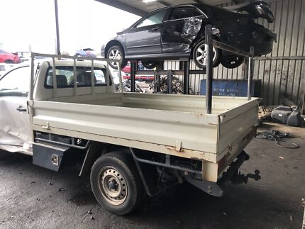 SINGLE CAB STEEL TRAY WITH BOXES HILUX 2010 Laverton North Wyndham Area Preview