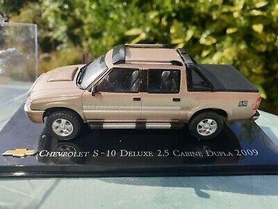 IXO / ALTAYA - CHEVROLET S-10 DELUXE 2.5 CABINE DUPLA  - 1/43 SCALE MODEL CAR, usado comprar usado  Enviando para Brazil