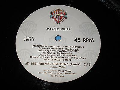 Marcus Miller - My Best Friend's Girlfriend 12