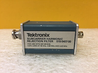 Tektronix 015-0407-00 Subcarrier Harmonic Rejection Filter. For 067-0916-00