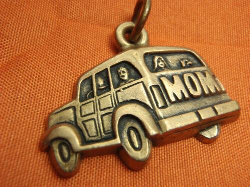 James Avery Bronze Woodie Wagon Mom Retired & Rare