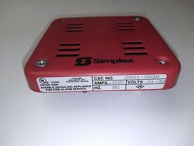 Simplex 2901-9838 Fire Alarm Horn