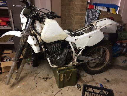 Xr600 1993 spare parts bike