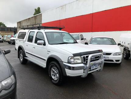 2005 Ford Courier XLT DUAL CAB Ute TURBO DIESEL 4X4 Mooroolbark Yarra Ranges Preview