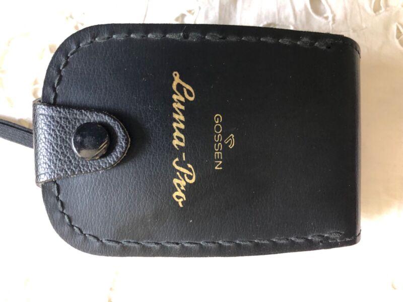 Gossen Luna Pro light meter with leather case - Primo!!!
