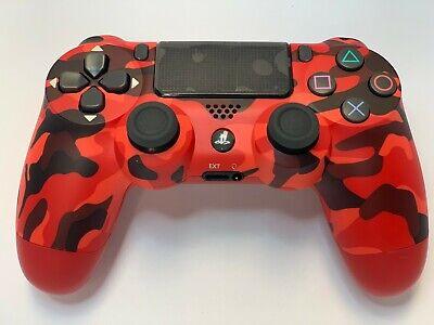 DualShock 4 Wireless Controller for SONY PlayStation 4 - Red Camouflage Camouflage Wireless Controller