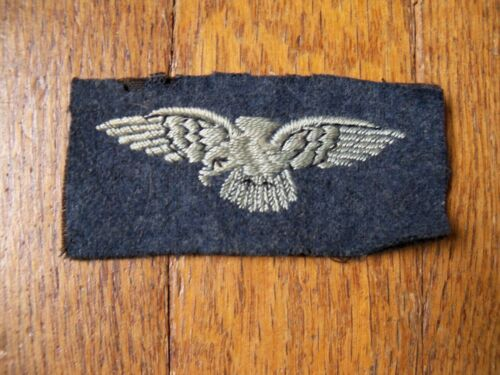 WWII British RAF Shoulder Flash Eagle Patch