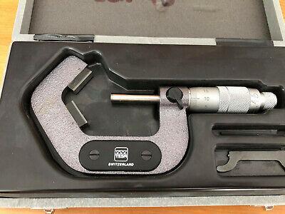 Tesa V-anvil Micrometer 25-45 Mm