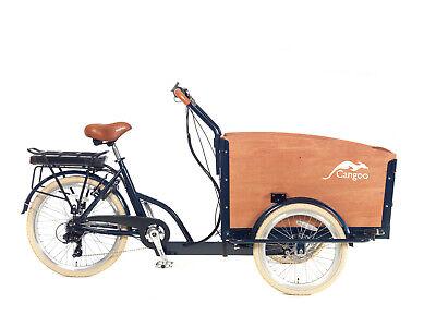 E-CARGOBIKE Elektrotransportrad E-Bike Cangoo ``Groovy`` BAKFIETS 7 Gang
