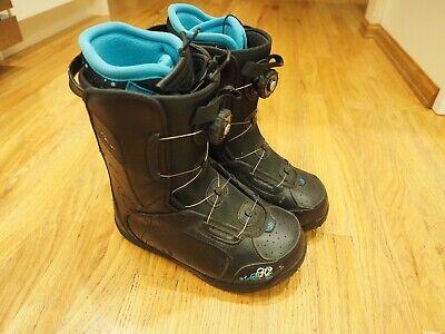 K2 Haven Womens Boa Snowboard Boots Size 7 Black