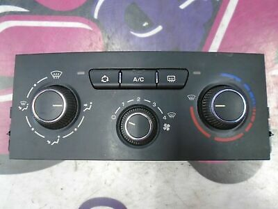 09 PEUGEOT 207 VERVE 1.4 PETROL HEATER / AIR CONDITIONING CONTROL PANEL 06-09