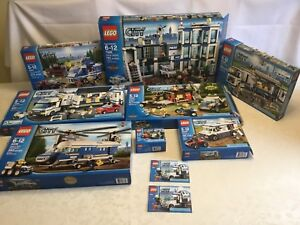 LEGO city police lot