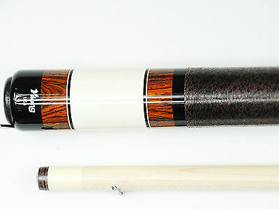 Ivory Pool Cue - Viking Pool Cue Billiards Custom cocobolo / ivory vintage design