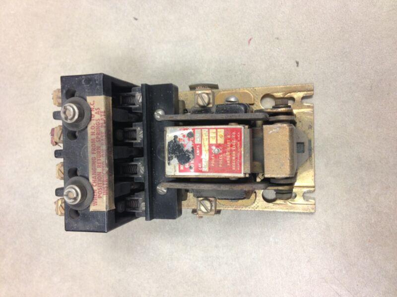 IM-004-U Arrow Hart & Hegeman Contactor 4 Pole 208-220V Coil