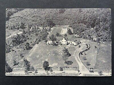 West Lake Farm, Danbury CT Vintage Postcard 1946
