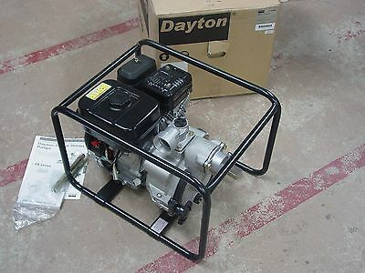 Dayton 4vv66 Centifugal Trash Pump With Subaru Ohc 6 Hp Engine New