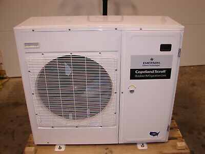 New Emerson Copeland Xfam-017z-tfc-081 208-230v 3ph 1.75hp Condensing Unit