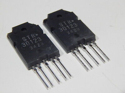 Original Sanken Str30123 Voltage Regulator - Lot Of 2 Ics - Usa Fast Shipping