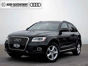 2016 Audi Q5 2.0T Komfort, Certified, No Accidents, Push Button