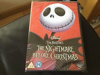 Tim Burton's The Nightmare Before Christmas (DVD ) Walt Disney Halloween classic