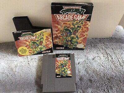 Nintendo Teenage Mutant Ninja Turtles 2 Arcade NES