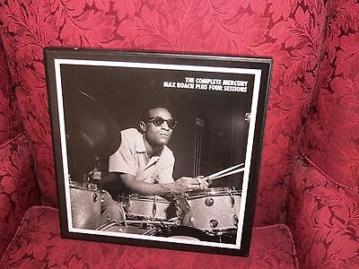 MAX ROACH - MOSAIC: THE COMPLETE MERCURY PLUS FOUR SESSIONS CD BOX SET [NEW]
