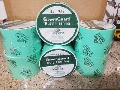 Greenguard Butyl Flashing Tape 6 Rolls 4 X 75 New