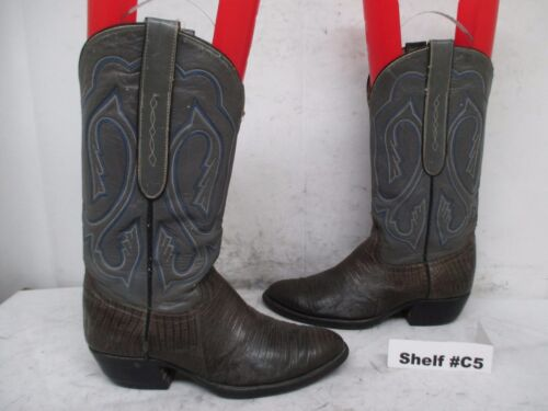 Cowtown, Lizard, Skin, Leather, Cowboy, Western, Boots, Mens, Size, 6.5, D, Style, 846,