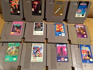 Nintendo games for sale Sqoon, Zelda, nightmare on elm st