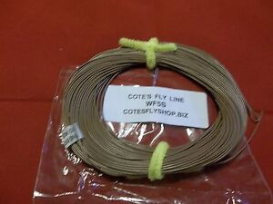 Cote-039-s-Fly-Shop-private-label-fly-line-WF5S-Brown-Sink-Rate-T3-3IPS