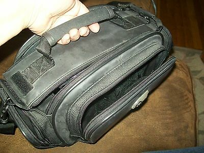 """Charcoal Grey VIEW Camera Case- Pockets, Shoulder Strap - !2"""" x 7 """"; Photography"""