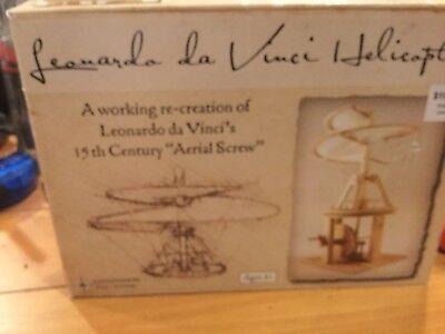 Pathfinders Leonardo da Vinci Premium Aerial Screw Helicopter Flying Machine
