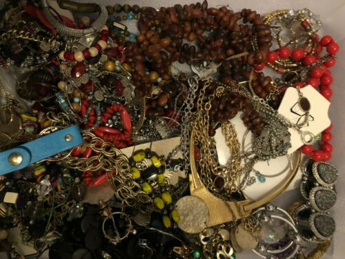 5 lbs Jewelry Lot for Crafting/Repurpose (#20)