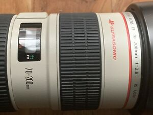 Canon IS USM 70-200mm 2.8 like new!