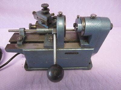 Tischdrehbank Hunger Weiler Drehbank Ventildrehbank Drehmaschine Honmaschine