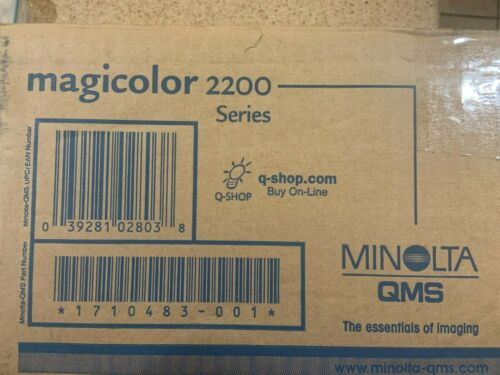 Genuine Konica Minolta Magicolor 2200 Fuser/Transfer Roller Kit