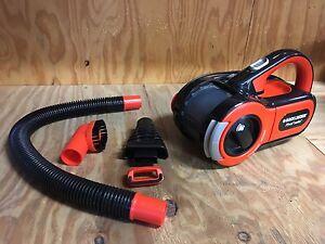 Black and Decker DustBuster Pivot Auto 12v Car Vacuum Cleaner. Upper Mount Gravatt Brisbane South East Preview