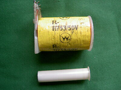 NEW. WILLIAMS / BALLY FLIPPER COIL WITH DIODES AND INSERT Part No FL-11753/50V.