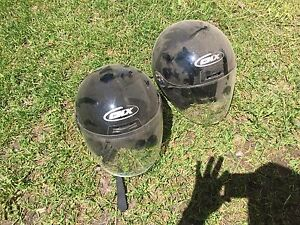 Motorbike helmets !