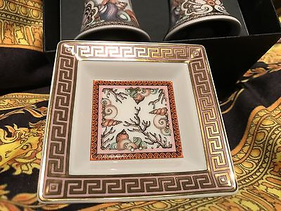 VERSACE ETOILES LA MER ASH TRAY PINK ROSENTHAL LOVER BEST GIFT IDEA NEW SALE $