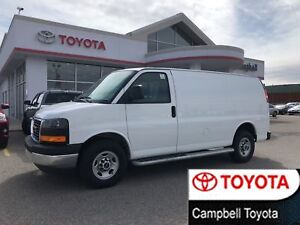 2017 GMC Savana CARGO VAN CRUISE--AIR--LOW KM'S
