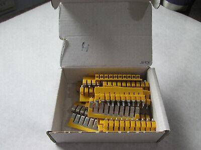 New Box Of 20 Allen Bradley 1492-cjj6-10 Center Jumpers 10 Pole