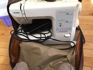 Kenmore sewing machine with carry case