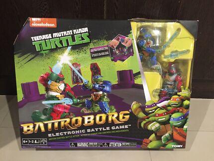 Teenage Mutant Ninja Turtle Battroborg Game