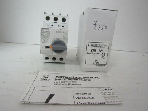 CERUS INDUSTRIAL CMS-32H MANUAL MOTOR STARTER 6A (4~6A)