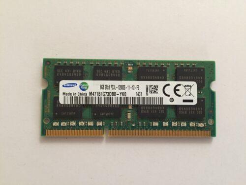 SAMSUNG 8GB DDR3L 2Rx8 PC3L-12800S 204pin SODIMM Laptop Memory RAM