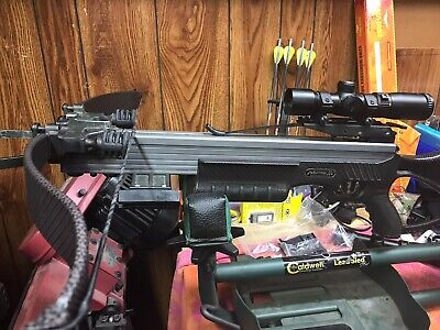 Excalibur Matrix 380 blackout edition Crossbow with Tactzone Scopee with extras